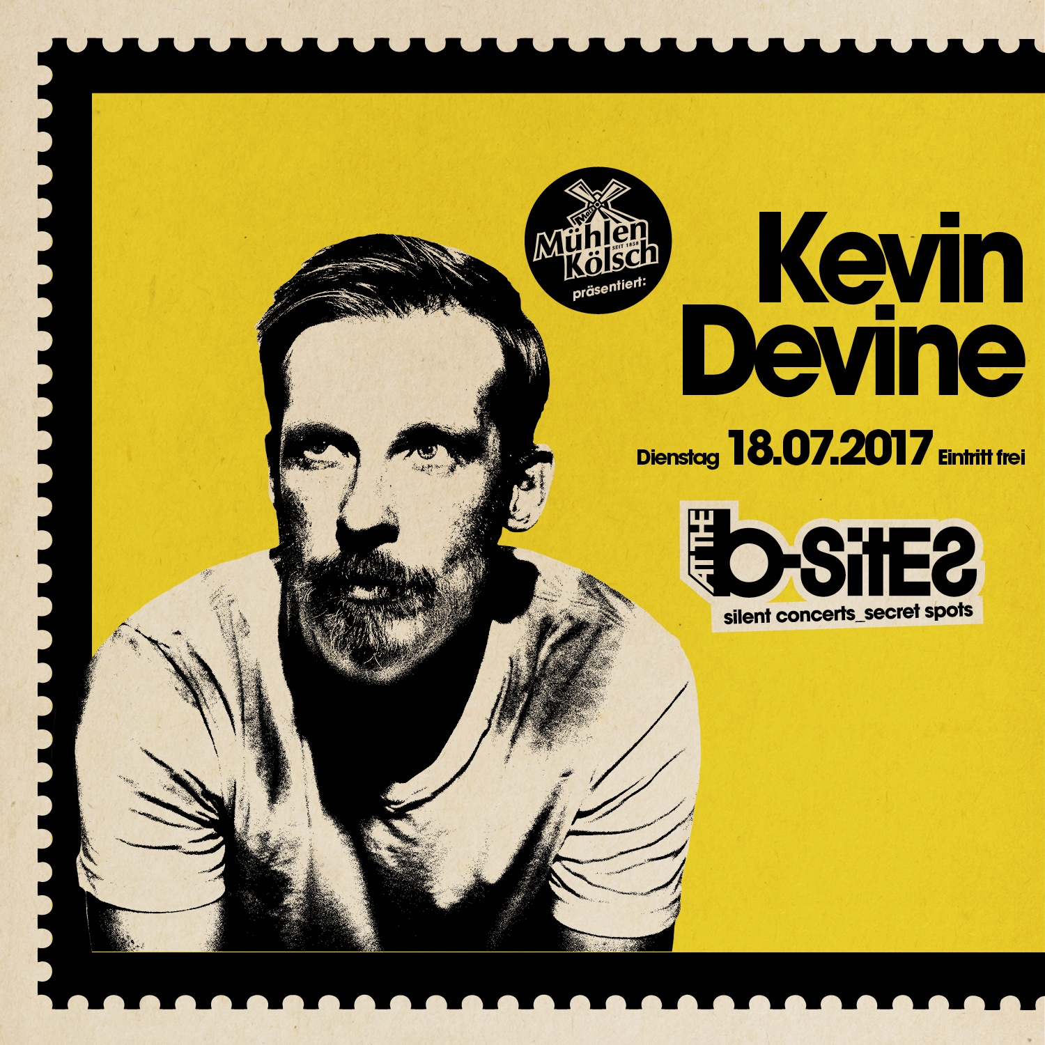 KEVIN DEVINE at the b-sites