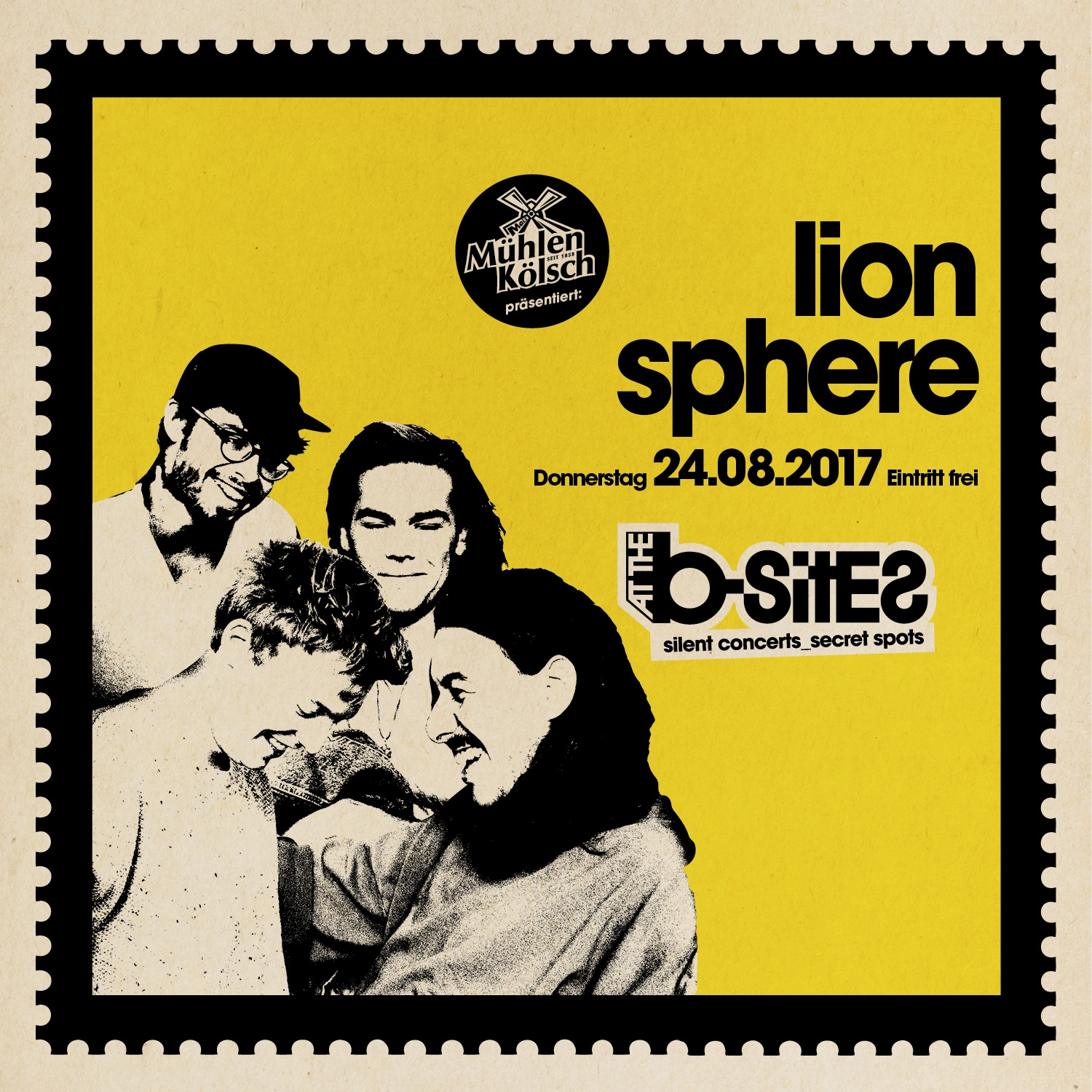 LION SPHERE at the b-sites