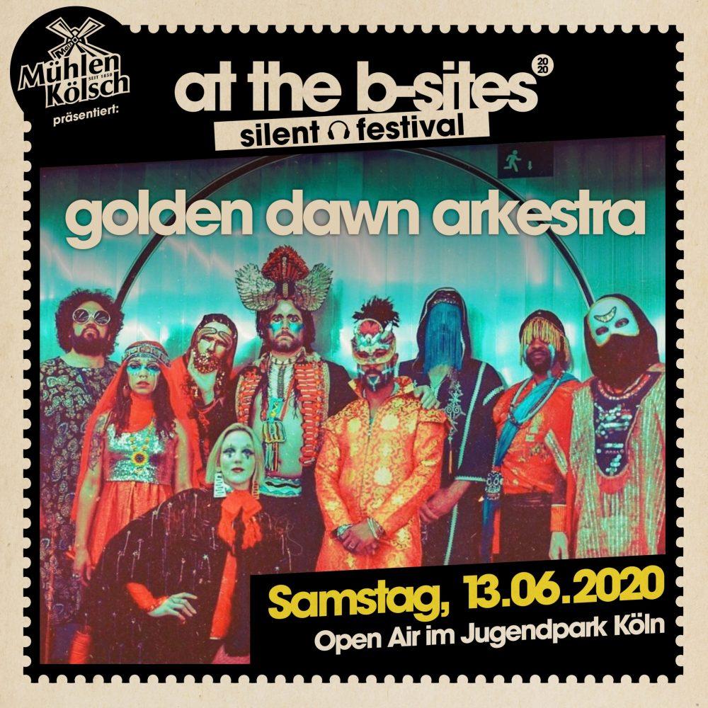 Golden Dawn Arkestra • At The B-Sites Festival 2020 Jugendpark Köln